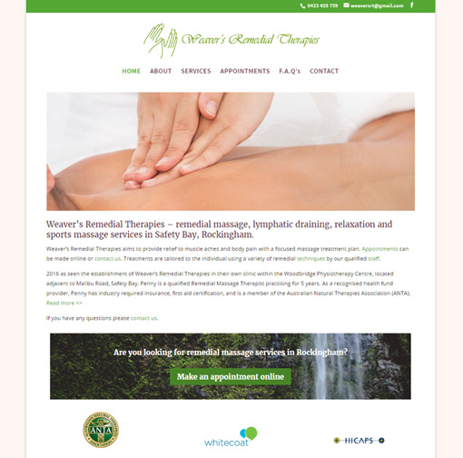 Weaver's Remedial Therapies Rockingham WA